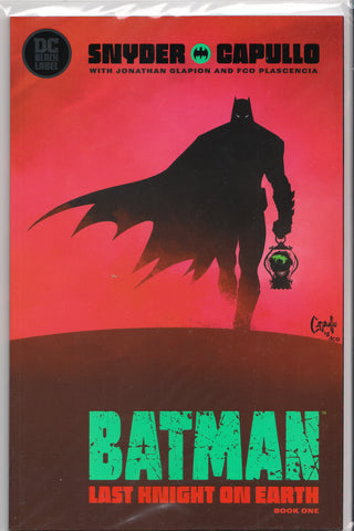 BATMAN: LAST KNIGHT ON EARTH #1 (GREG CAPULLO VARIANT) COMIC BOOK ~ DC Comics Black Label