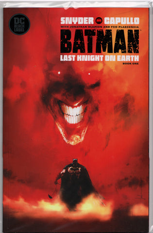 BATMAN: LAST KNIGHT ON EARTH #1 (JOCK VARIANT) COMIC BOOK ~ DC Comics Black Label