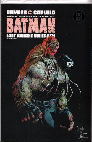 BATMAN: LAST KNIGHT ON EARTH #2 (GREG CAPULLO VARIANT) COMIC BOOK ~ DC Comics Black Label