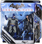 Batman Legacy - BATMAN & CATWOMAN (COLOR VERSIONS) - ARKHAM CITY / ASYLUM ORIGIN