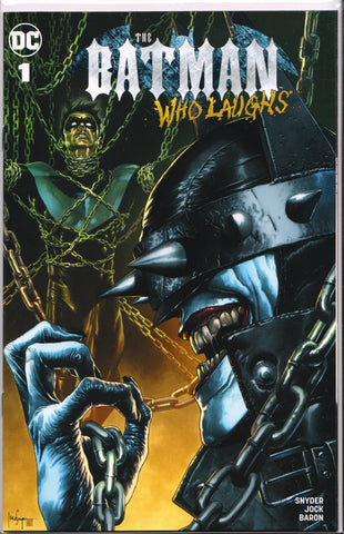 THE BATMAN WHO LAUGHS #1 MICO SUAYAN VARIANT COMIC BOOK ~ Exclusive
