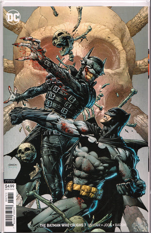 BATMAN WHO LAUGHS #7 (1ST PRINT)(DAVID FINCH COVER) ~ DC Comics