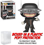 Funko POP! DC Heroes ~ BATMAN WHO LAUGHS (#256) VINYL FIGURE w/Protector Case