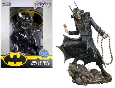 DC Gallery ~ BATMAN WHO LAUGHS STATUE ~ DST Diamond DC Comics Dark Knight Joker