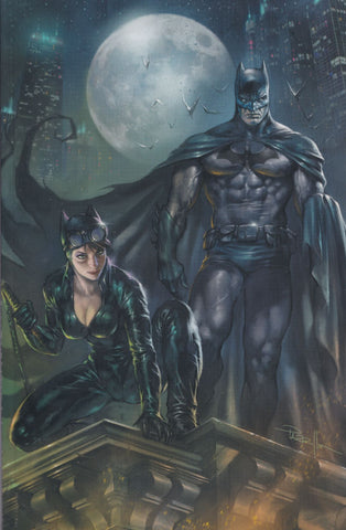 BATMAN/CATWOMAN #1 (LUCIO PARRILLO EXCLUSIVE VIRGIN VARIANT COMIC BOOK ~ DC