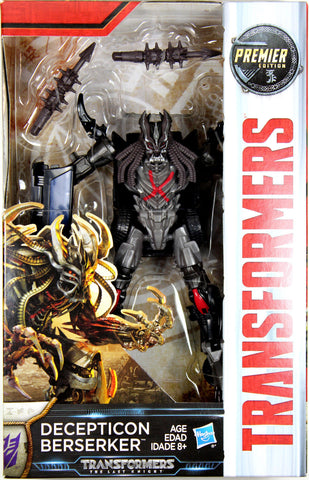 Transformers: Last Knight ~ BERSERKER ACTION FIGURE ~ Deluxe Class
