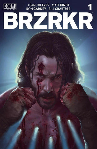 BRZRKR #1 (BERZERKER)(RAHZZAH EXCLUSIVE COVER A) COMIC BOOK ~ Boom! Studios