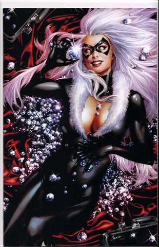 BLACK CAT #1 (JAY ANACLETO VIRGIN VARIANT) COMIC BOOK ~ Marvel Comics