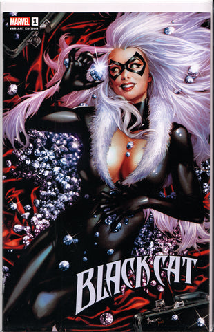 BLACK CAT #1 (JAY ANACLETO VARIANT) COMIC BOOK ~ Marvel Comics