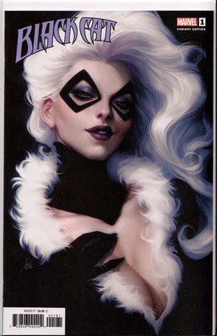 "BLACK CAT #1 (STANLEY ""ARTGERM"" LAU VARIANT) COMIC BOOK ~ Marvel Comics"