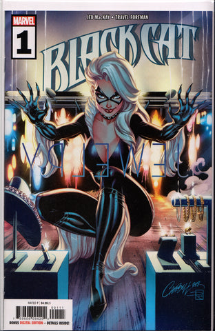 BLACK CAT #1 (J. SCOTT CAMPBELL VARIANT) COMIC BOOK ~ Marvel Comics