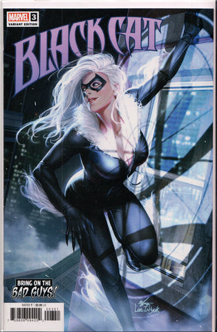 BLACK CAT #3 (INHYUK-LEE VARIANT) COMIC BOOK ~ Marvel Comics