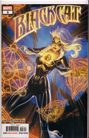 BLACK CAT #3 (J. SCOTT CAMPBELL VARIANT) COMIC BOOK ~ Marvel Comics
