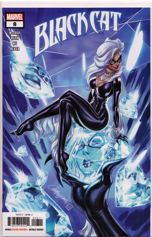 BLACK CAT #8 (J. SCOTT CAMPBELL VARIANT) COMIC BOOK ~ Marvel Comics