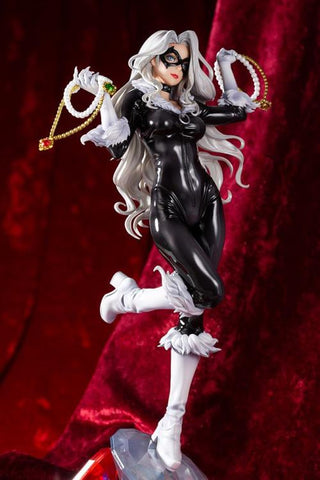 Marvel Comics ~ BLACK CAT (STEALS YOUR HEART) BISHOUJO STATUE ~ Kotobukiya