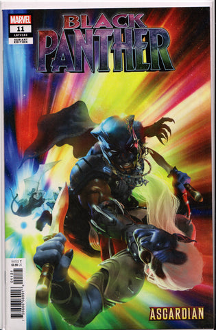 BLACK PANTHER #11 (RAHZZAH ASGARDIAN VARIANT) COMIC BOOK ~ Marvel Comics