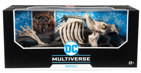 DC Multiverse ~ BATCYCLE (BONE BIKE)(DARK NIGHTS: DEATH METAL) ~ McFarlane Toys