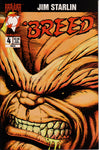 BREED #4 COMIC BOOK ~ Jim Starlin ~ Malibu Comics