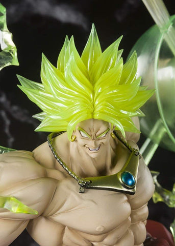 Dragonball Z ~ Figuarts Zero ~ SUPER SAIYAN BROLY (THE BURNING BATTLES) ~ Bandai Tamashii Nations