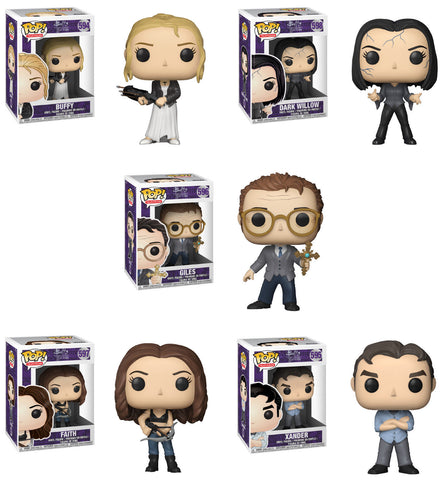 Funko POP! Television ~ BUFFY THE VAMPIRE SLAYER VINYL FIGURE SET ~ BTVS
