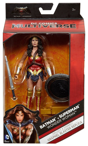 "DC Multiverse BvS ~ 6"" WONDER WOMAN ACTION FIGURE ~ Batman v. Superman"