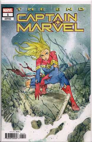 CAPTAIN MARVEL: THE END #1 (PEACH MOMOKO VARIANT) COMIC BOOK ~ Marvel Comics
