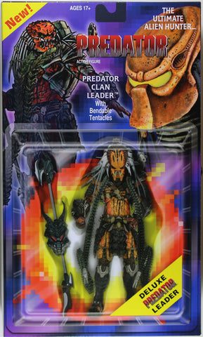 Predators ~ DELUXE CLAN LEADER PREDATOR ACTION FIGURE ~ NECA