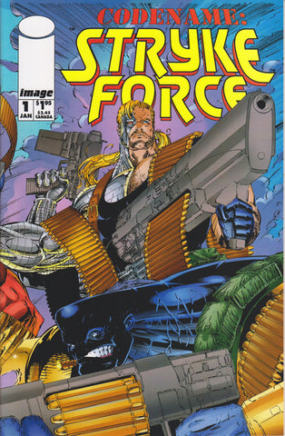 CODENAME: STRYKE FORCE #1 COMIC BOOK ~ Image Comics