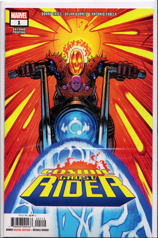 COSMIC GHOST RIDER #1 (SECOND PRINT VARIANT) COMIC BOOK ~ Marvel Comics
