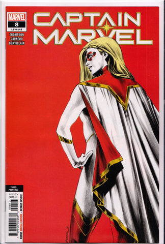 CAPTAIN MARVEL #8 (3RD PRINT)(1ST APPEARANCE STAR) COMIC BOOK ~ Marvel Comics