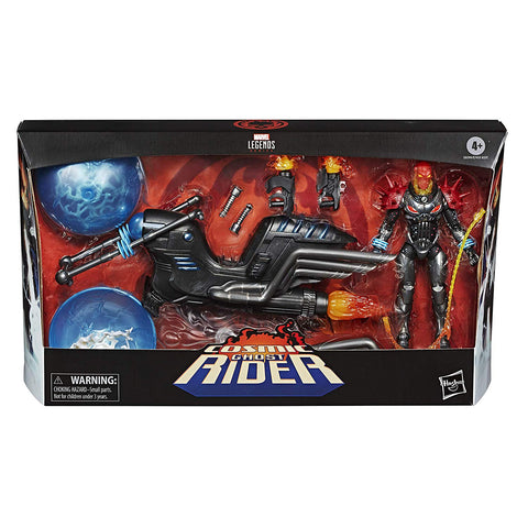 Marvel Legends ~ COSMIC GHOST RIDER w/MOTORCYCLE ACTION FIGURE BOXED SET