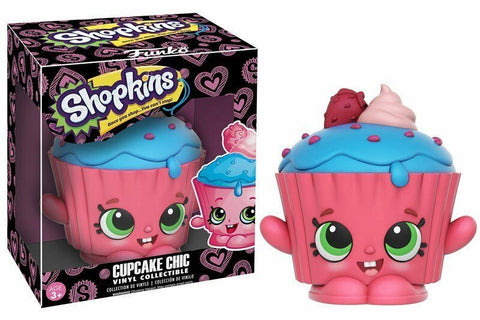 Funko Shopkins ~ CUPCAKE CHIC VINYL FIGURE ~ Designed by Moose Toys