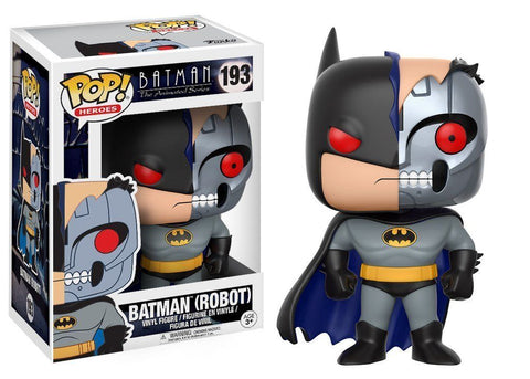 Funko POP! DC Heroes ~ CYBORG BATMAN FIGURE ~ BATMAN: THE ANIMATED SERIES