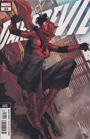 DAREDEVIL #25 (2ND PRINT CHECCHETTO VARIANT) COMIC BOOK ~ 1ST ELEKTRA AS DD
