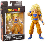 Dragon Stars Series 10 ~ SUPER SAIYAN 3 GOKU ACTION FIGURE ~ DBZ DBS