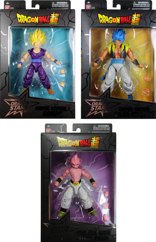 Dragon Stars Series 11 Action Figure Set ~ Set Will Include 3 Different Action Figures ~ Bandai