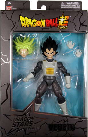 Dragon Stars Series 7 ~ VEGETA ACTION FIGURE ~ Bandai DBZ Super