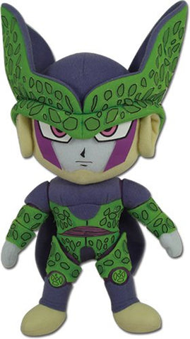"Dragonball Z ~ 10"" PERFECT CELL PLUSH FIGURE ~ Official Great Eastern Plushie"