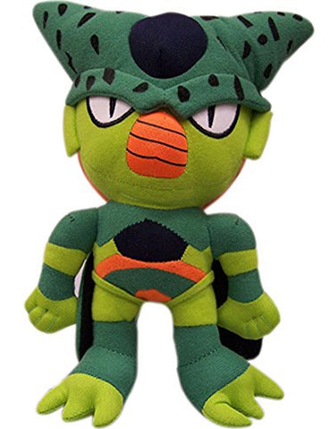 "Dragonball Z ~ 10"" IMPERFECT CELL PLUSH FIGURE ~ Official Great Eastern Plushie"