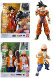 Dragonball Z ~ SH Figuarts ~ GOKU (A SAIYAN RAISED ON EARTH) & MASTER ROSHI SET