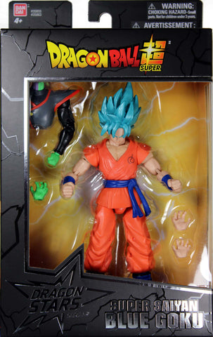 Dragon Stars Series 3 ~ SUPER SAIYAN BLUE SSGSS GOKU ACTION FIGURE ~ Dragonball Z DBZ