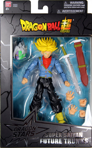 Dragon Stars Series 3 ~ SUPER SAIYAN FUTURE TRUNKS ACTION FIGURE ~ DBZ