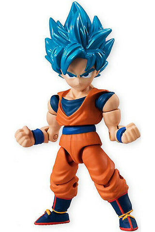 "Dragon Ball Super 66 ~ 2.6"" SSGSS GOKU ACTION FIGURE ~ Bandai"