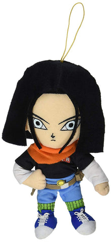 "Dragonball Z ~ 8"" ANDROID 17 PLUSH FIGURE ~ Official Great Eastern Plushie"