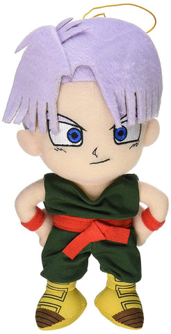 "Dragonball Z ~ 8"" TRUNKS PLUSH FIGURE ~ Official Great Eastern Plushie"