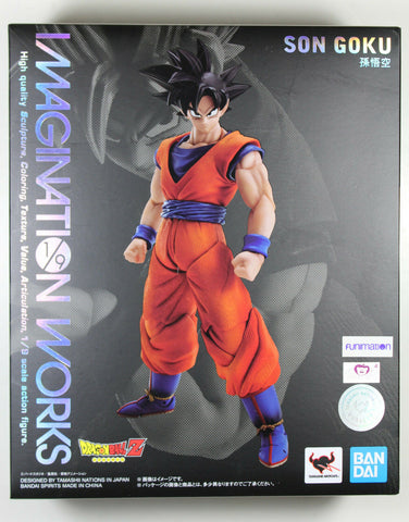 Dragonball Z ~ SON GOKU 1/9 Scale Action Figure ~ Bandai Imagination Works DBZ