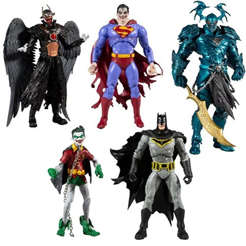 DC Multiverse ~ COLLECTOR SERIES WAVE 2 ACTION FIGURE SET w/MERCILESS ~ PRE-ORDER