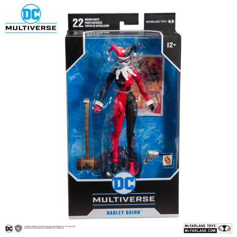 DC Comics Wave 1 ~ 7-INCH HARLEY QUINN (CLASSIC) ACTION FIGURE ~ McFarlane Toys (PRE-ORDER)