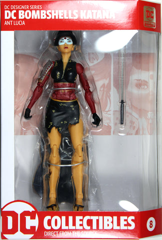 DC Bombshells ~ KATANA ACTION FIGURE ~ DC Collectibles Ant Lucia