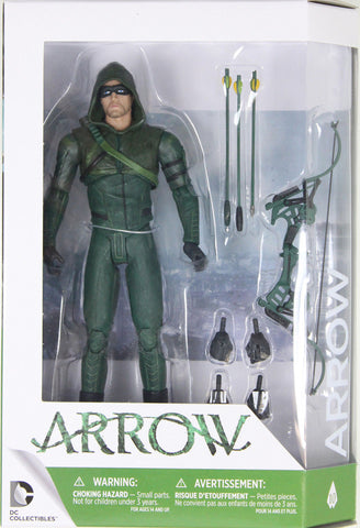 DC Collectibles - ARROW ACTION FIGURE (in SEASON 3 OUTFIT) - from CW TV SERIES